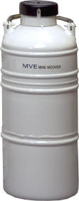 "Minimoover Vapor Shipper with 11"" canister (1)"
